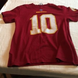 Other - NFL Redskins Griffin III T Shirt pre own